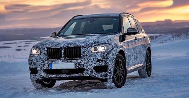 2018 BMW X3 teased during winter testing