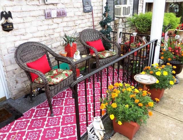 Summer Front Porch Update