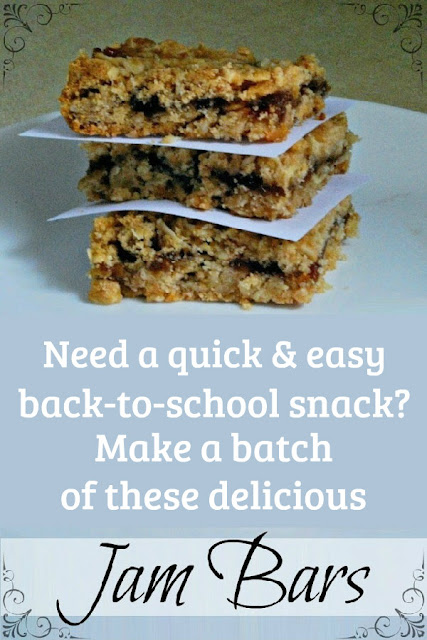 Simple and quick-to-make, these jam bars are delicious!