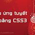 [Blogger] Hiệu ứng tuyết rơi bằng CSS3