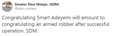 ''Congratulating Smart Adeyemi Is Like Congratulating An Armed Robber'' Dino Melaye Releases Another Song (Video)