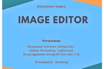 Loker Bandung Image Editor Jonas Photo