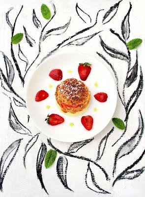 Profiterole Tomate-Fraise