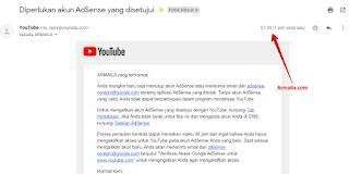 Diperlukan akun AdSense yang disetujui