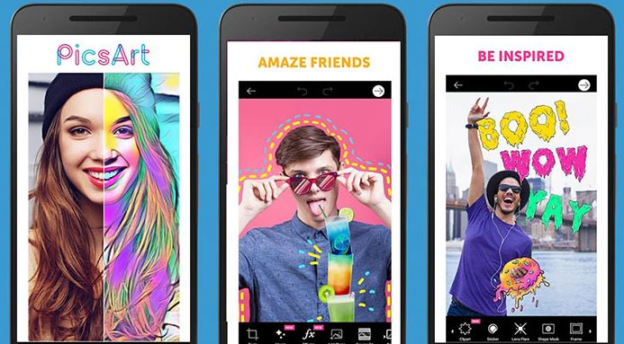 Image result for PicsArt Photo Studio: Collage Maker & Pic Editor android
