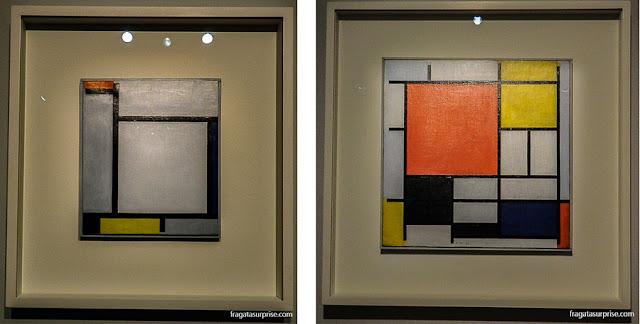 Obras de Mondrian expostas em Brasília