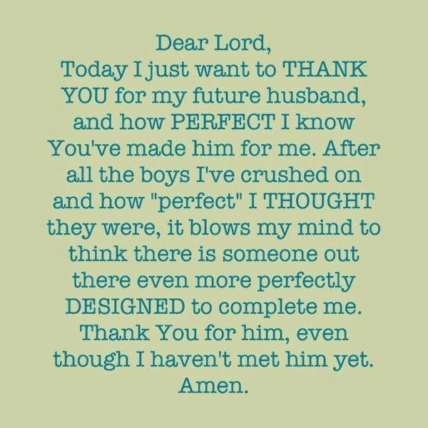Prayer for a life partner