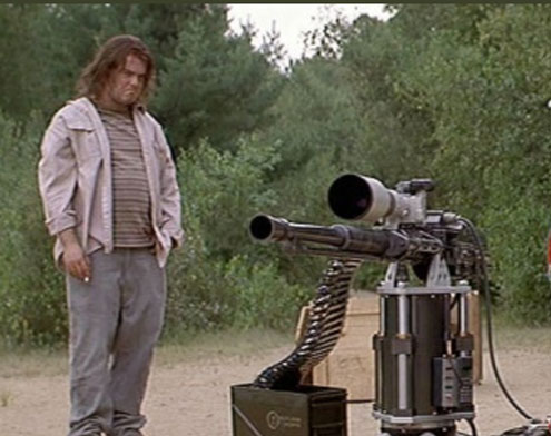Imagine this scene and a socially isolated astronomer and what do you get? (Source: from the 1997 movie, The Jackal)