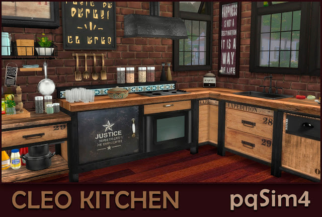 Cleo Kitchen. Detalle 1