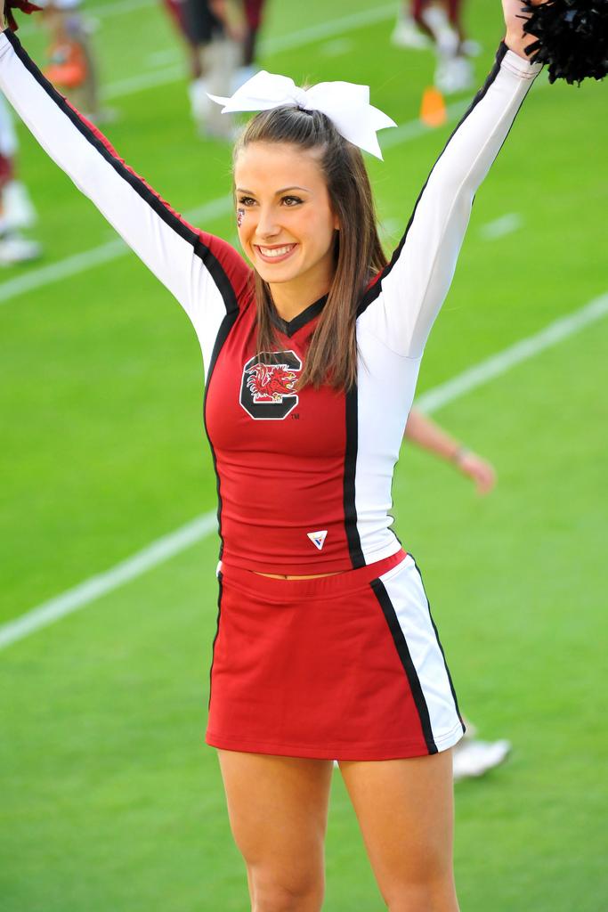 Hot college cheerleaders