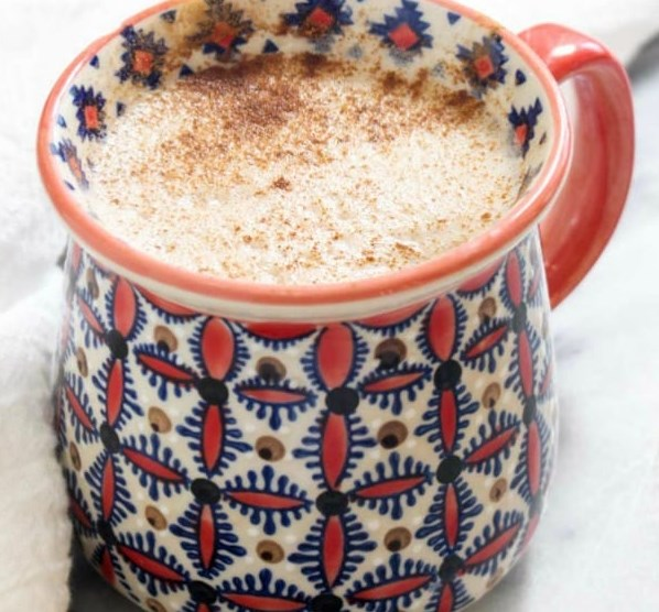SUPERFOOD MACA LATTE #drinks #healthy