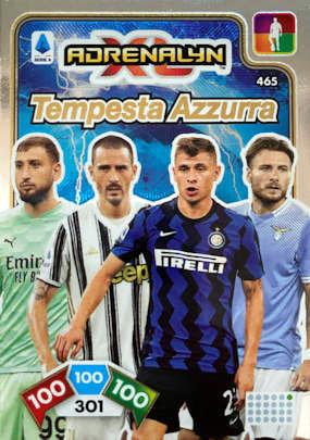 tempesta azzurra Top player calciatori 2020-2021 panini adrenalyn XL Ronaldo