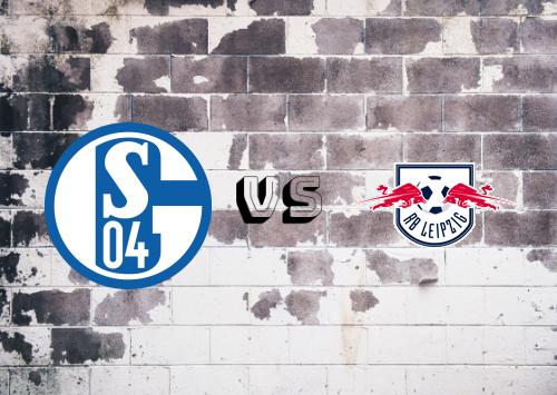 Schalke 04 vs RB Leipzig  Resumen