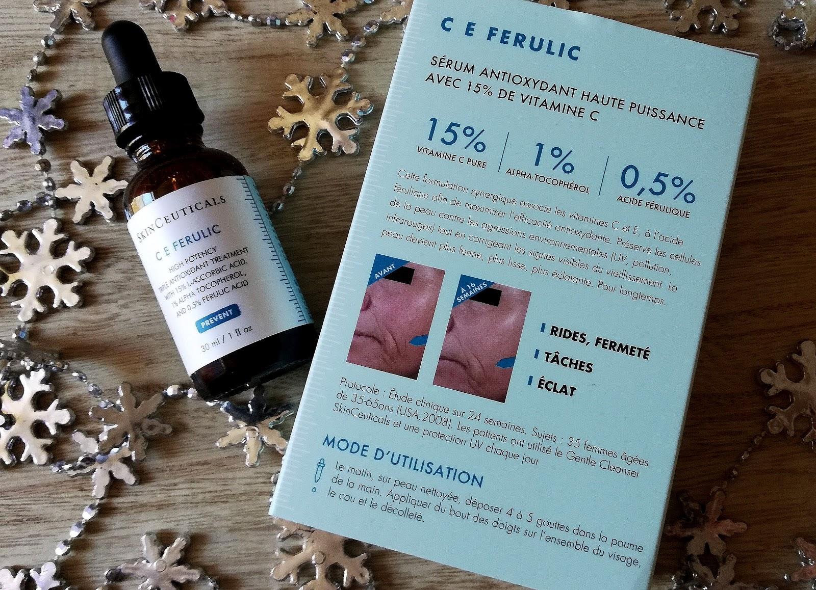 SKINCEUTICALS  Le test du sérum antioxydant haute puissance C E Ferulic