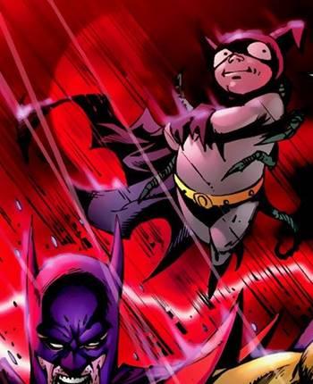 Este ser es una versión de Batman de otra dimensión