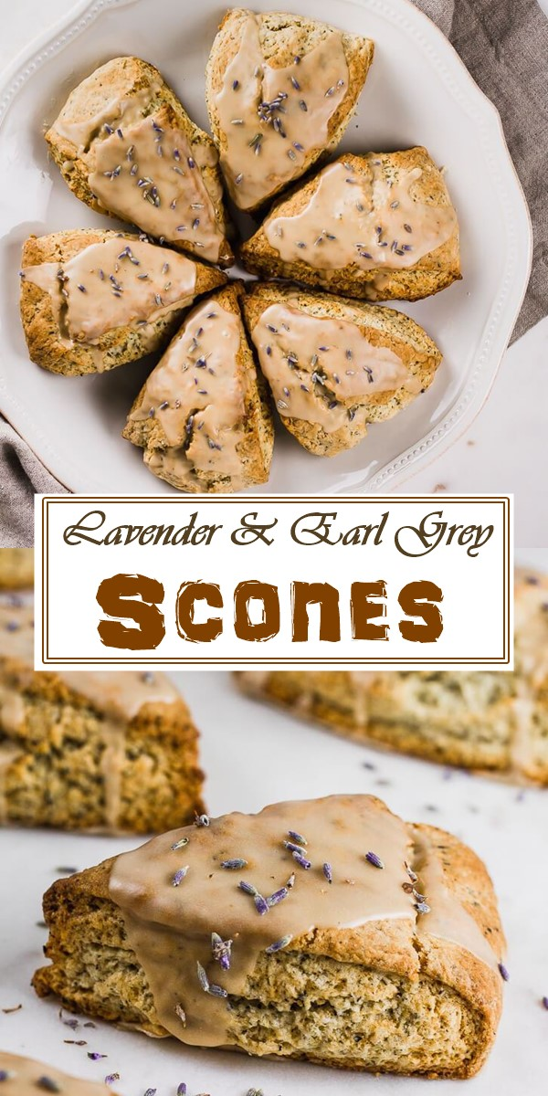 Lavender & Earl Grey Scones #breakfastideas