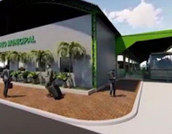 Galpão, em Itaituba, será transformado em Terminal Rodoviário Municipal