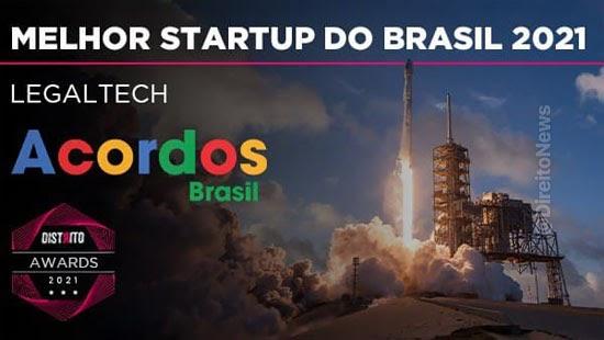 acordos brasil eleita melhor startup pais