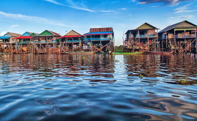 Xvlor.com Tonle Sap is blend of river and lake systems for Mekong reservoir