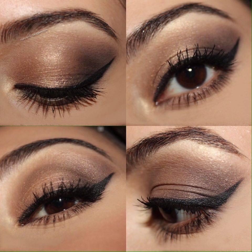 Işıltılı Göz Makyajı Nasıl Yapılır