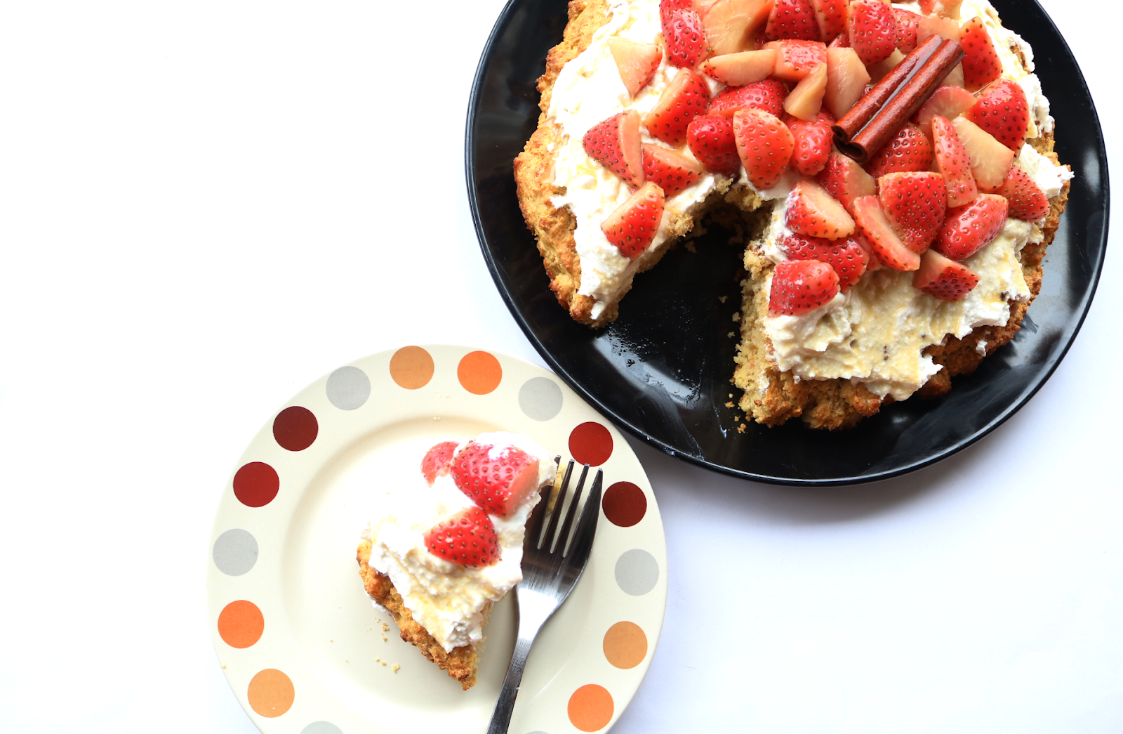 Strawberry Shortcake (Vegetarian recipe)