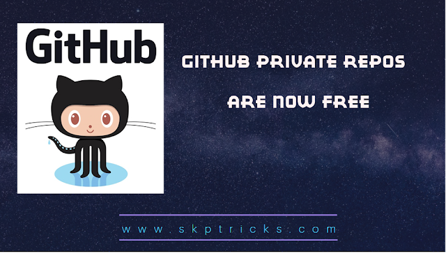 GitHub Private Repos are Now Free