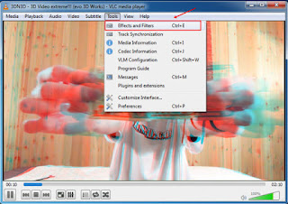 كيفية مشاهدة أفلام 3D على جهاز الكمبيوتر باستخدام برنامج VLC Media Player