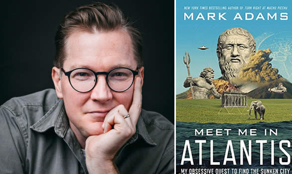 Libro «Meet me in Atlantis» de Mark Adams.