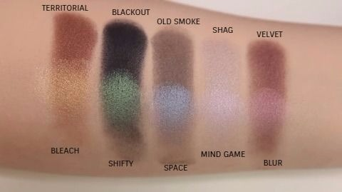 Distortion Eyeshadow Palette by Urban Decay #9