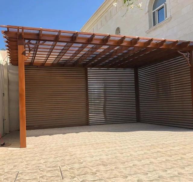 تنسيق حدائق سطح المنزل بالقصيم شركة الطارق لتنسيق الحدائق