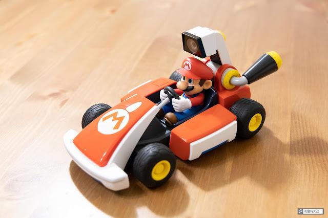 【遊戲】任天堂 AR 競速玩起來《瑪利歐賽車實況:家庭賽車場》 - 賽車的整體質感非常到位,出乎意料之外