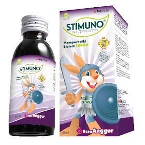Stimuno Sirup isi 60 ml Ampuh cegah Flu Singapura pada anak
