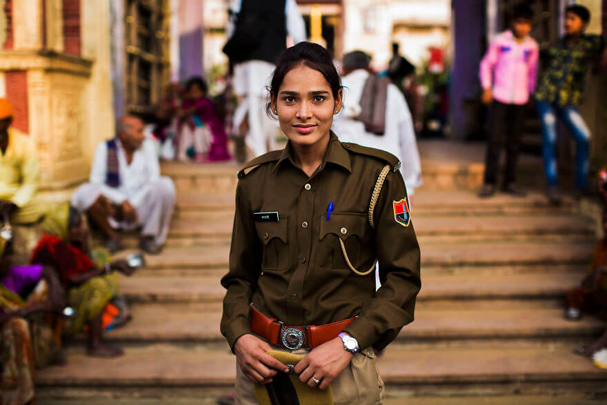 This Photographer Took Pictures Of Women From All Over The World. You'll Be Amazed By Their Beauty And Uniqueness! - Pushkar, India