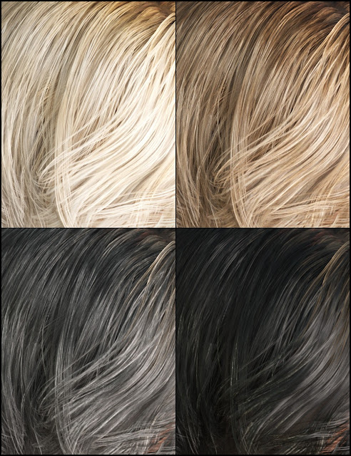 Colors for Cybele Hair