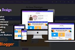 Download Arlina Design Clone Template Blogger - Responsive