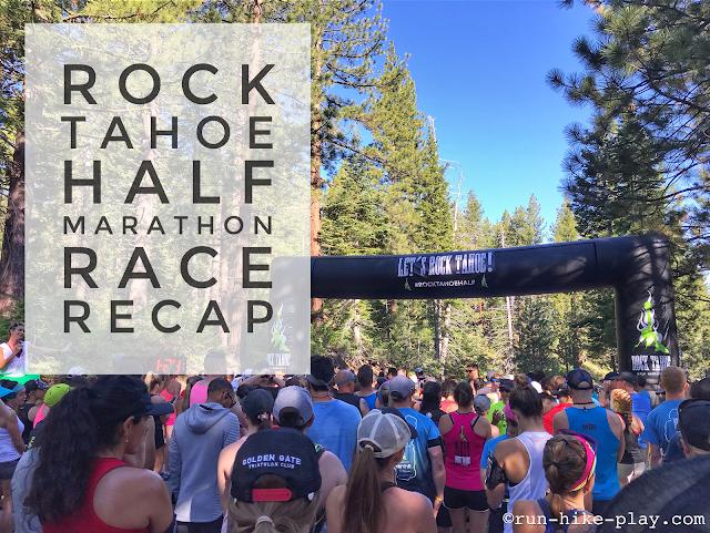 Epic Rock Tahoe Half Marathon Race Recap