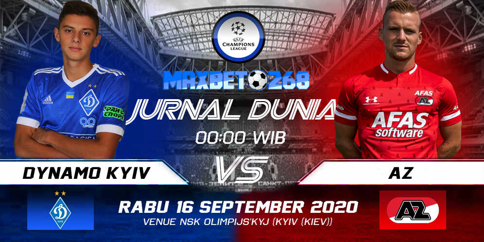 Prediksi Dynamo Kyiv vs AZ Alkmaar