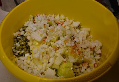 tradycyjna sałatka jarzynowa