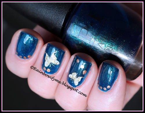 OPI ~ Nessie Plays Hide And Sea-K