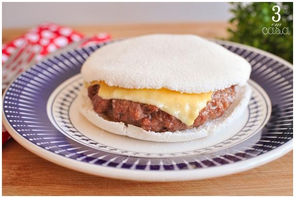 como fazer hambúrguer de tapioca