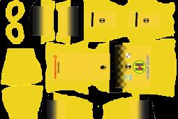 Kit DLS Barito Putera - Kit Dream League Soccer 2020
