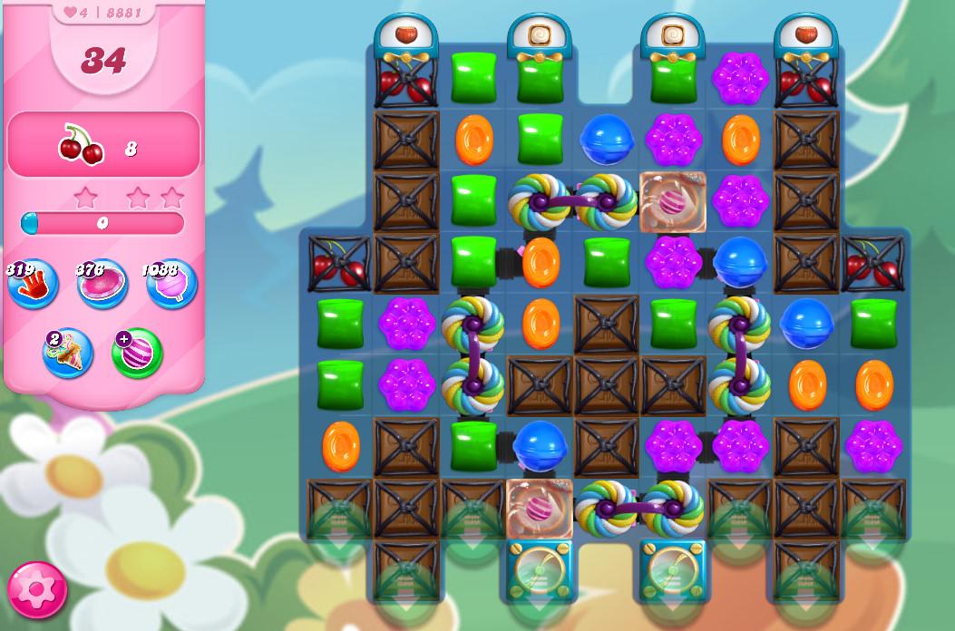 Candy Crush Saga level 8881