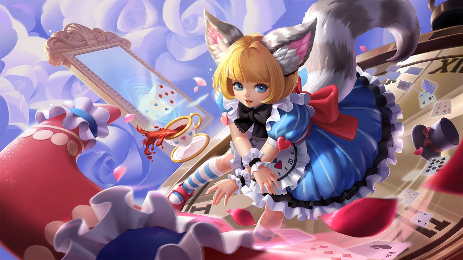 Wallpaper Nana Clockwork Maid Skin Mobile Legends HD for PC