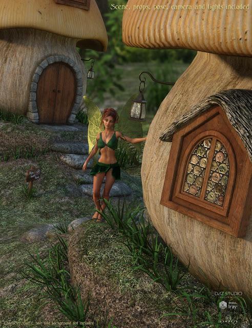 DM's Fairy Homes Bundle