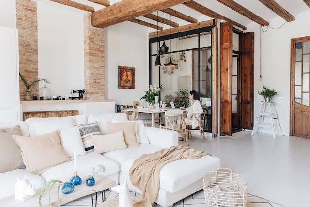 Дизайн-проекты. Интерьер с элементами средиземноморского дизайна в Испании