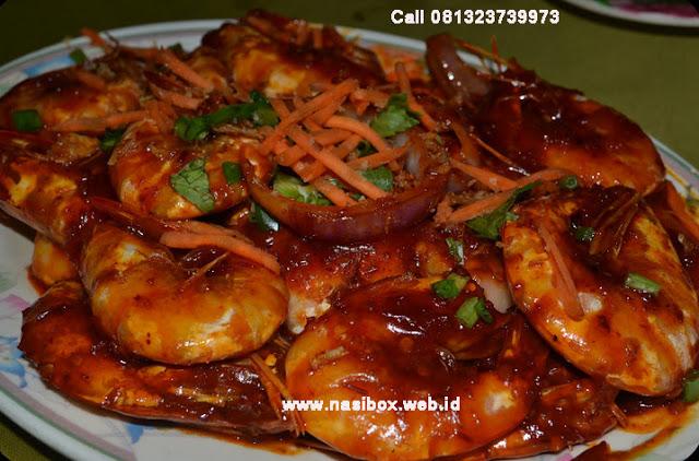 Resep udang goreng saus tiram ala rumah makan ciwidey