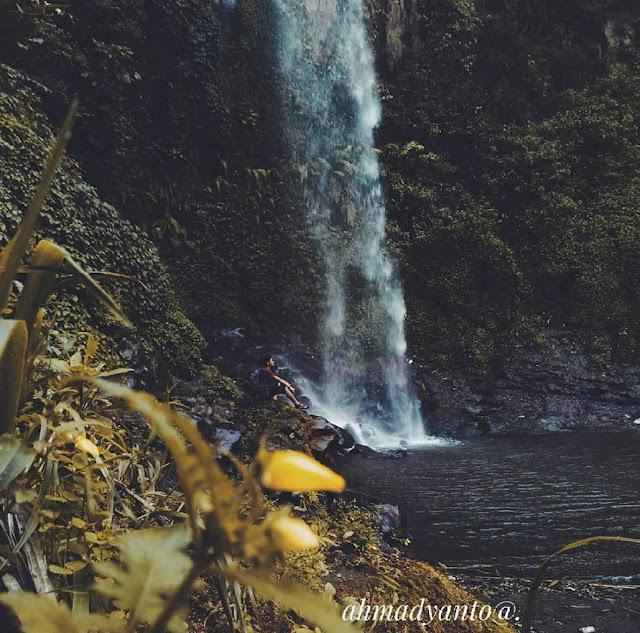 Coban Bidadari Malang bisa juga disebut Air Terjun Poncokusomo Malang Jawatimur
