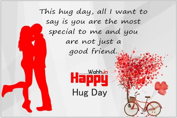 Latest Hugs Day Wishes Images