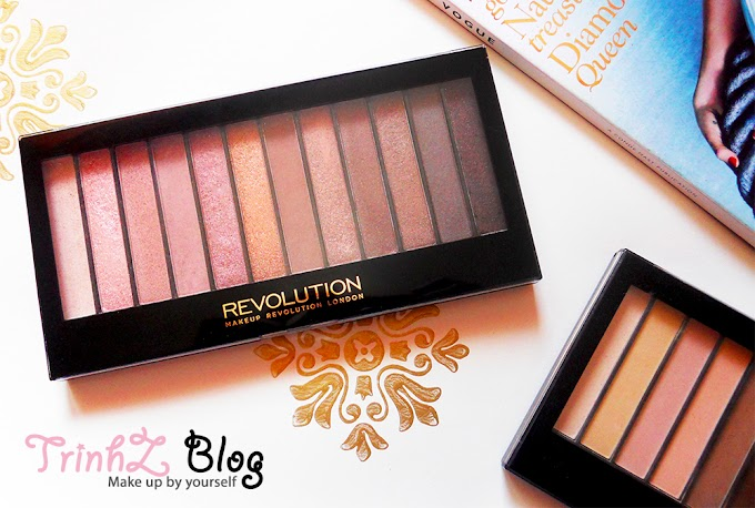 [REVIEW] Phấn mắt giá rẻ Makeup Revolution Iconic 3 Palette