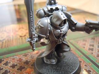 Deathwatch: Overkill space marine miniature